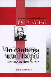 În căutarea unităţiii  - unitate în diversitate