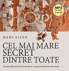 Cel mai mare secret dintre toate - CD  - audiobook format MP3 cu durata de 1h54min00sec