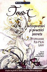 Tarot: interpretări şi practici secrete  - conţine un pachet de 78 de cărţi şi un ghid de interpretare
