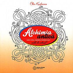 Alchimia antică  - Noduri celtice, mandale şi simboluri sacre - carte de colorat
