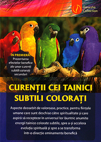 Curenţii cei tainici subtili coloraţi  - carte şi set cu 20 de culori