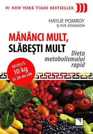 Mănânci mult, slăbeşti mult  - dieta metabolismului rapid