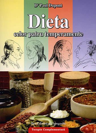 Dieta celor patru temperamente  - igiena şi alimentaţia aplicate fiecărui temperament