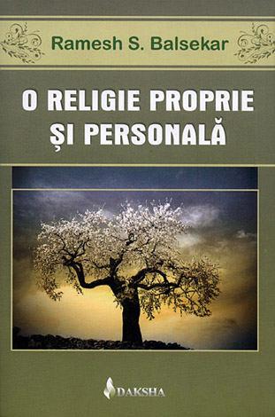 O religie propie şi personală