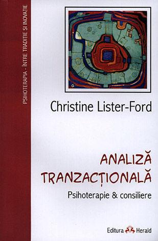 Analiză tranzacţională  - Psihoterapie & Consiliere