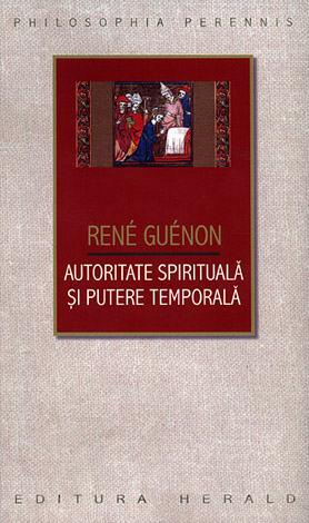 Autoritate spirituală şi putere temporală
