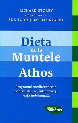 Dieta de la Muntele Athos  - programul mediteraneean pentru slăbire, întinerire şi viaţă îndelungată