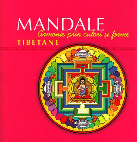 Mandale tibetane  - carte de colorat