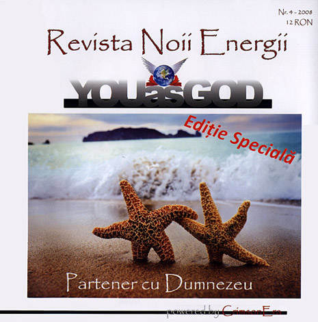YouasGod - revista Noii Energii - set nr. 1, 2, 3 şi 4