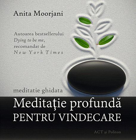 Meditaţie profundă pentru vindecare - CD  - audiobook format MP3 cu durata de 1h01min43sec